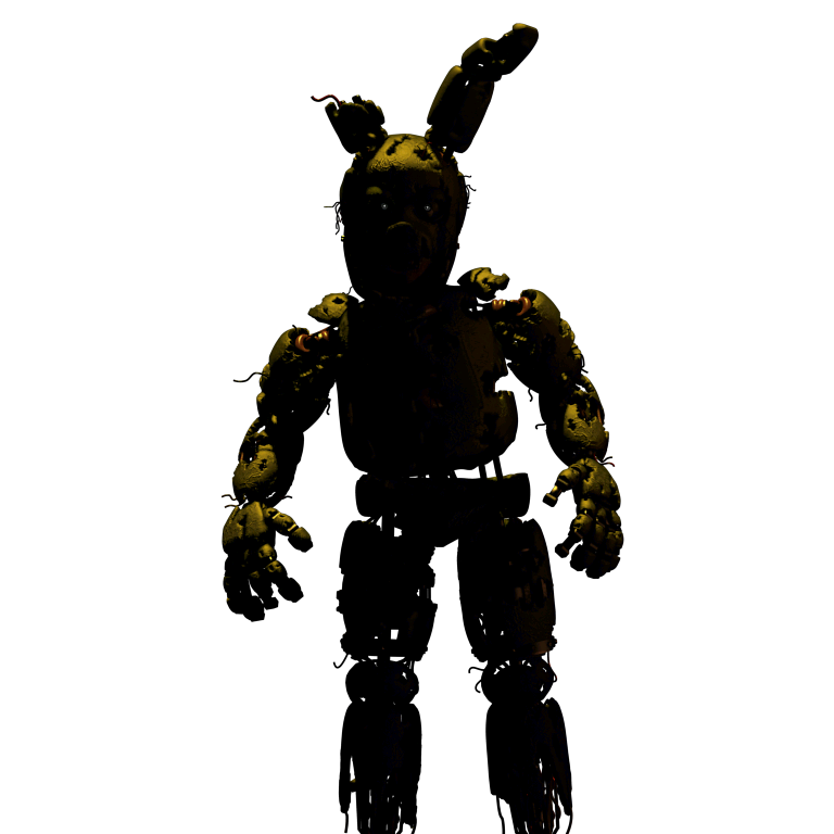 clip art transparent library springtrap transparent five nights #103627072