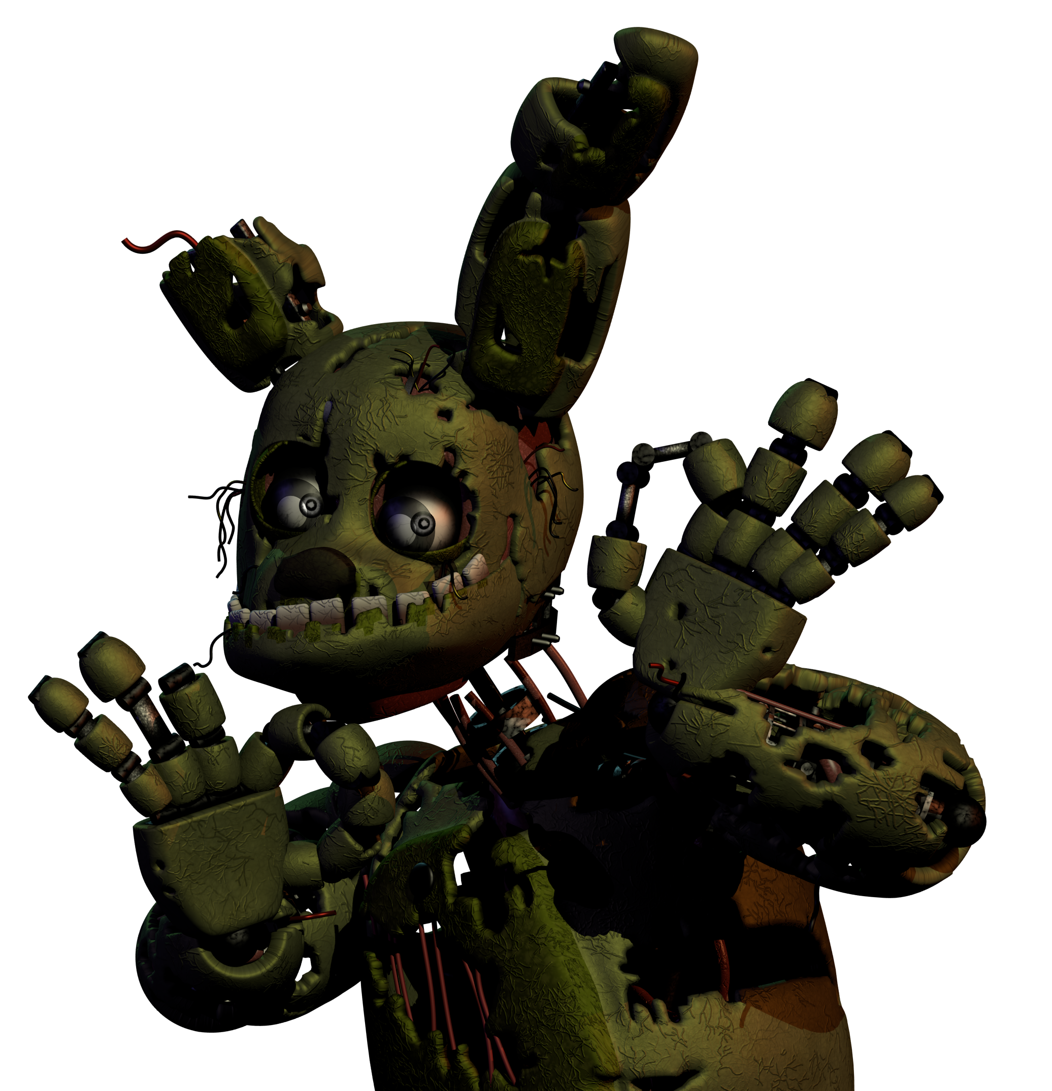 svg transparent stock Springtrap Model Comming to sfm soon