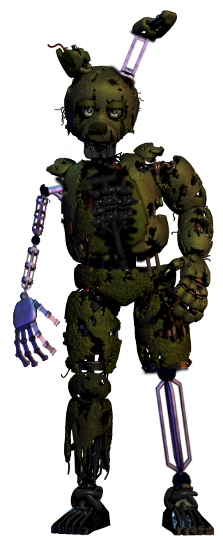 vector free Ignited Springtrap by ThatOneFNaFArtist on DeviantArt