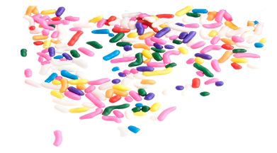 vector freeuse  collection of ice. Sprinkles clipart