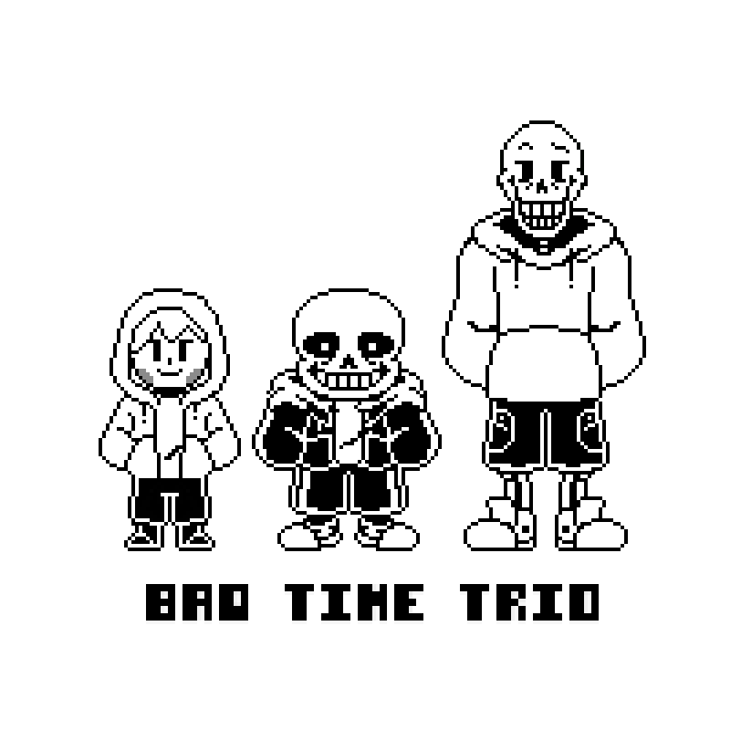 svg royalty free download Bad Time Trio Sprite by KERMITHH on DeviantArt