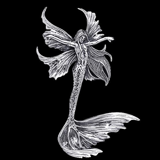 vector royalty free download Sea Sprite Fairy Pendant