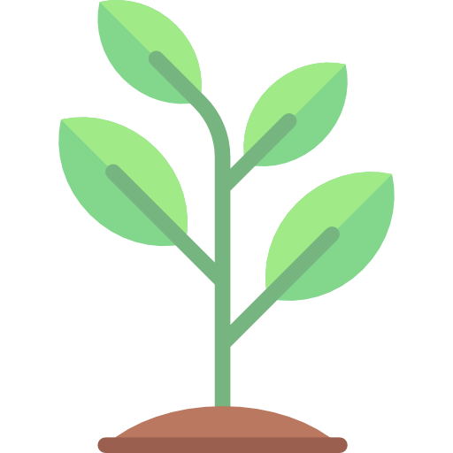 vector freeuse Growing seed tree nature. Sprout clipart