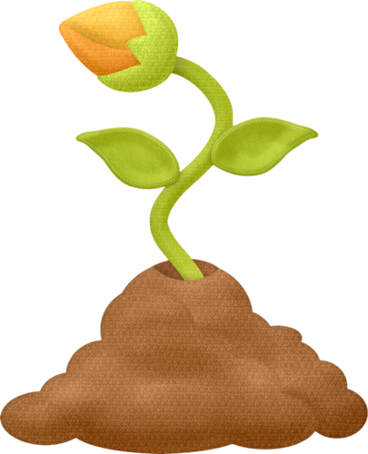 picture download Flower clip art spring. Sprout clipart