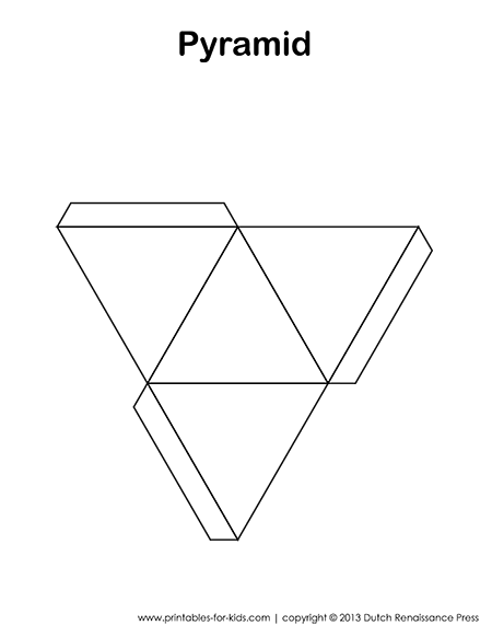 banner freeuse download Printable Pyramid Template