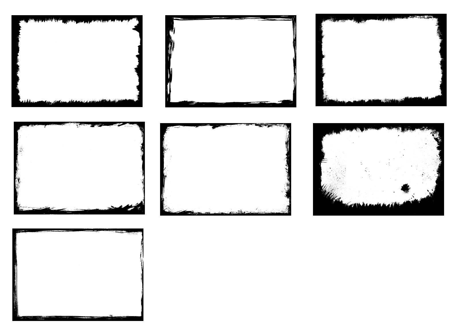image freeuse download Svg frames square.  grunge eps psd