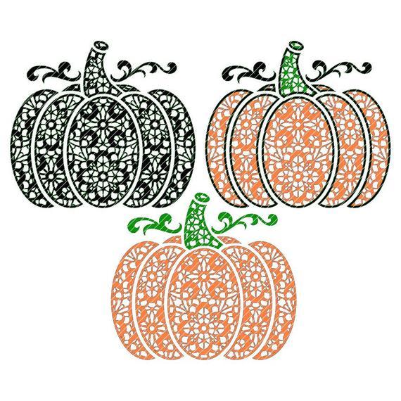 clip royalty free Lace zen pumpkin variations. Squash clipart fancy.