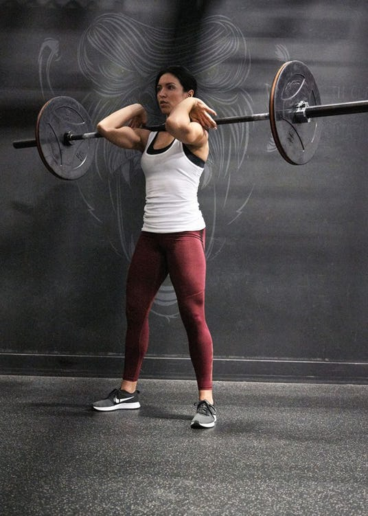picture transparent stock Front Squats vs