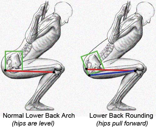 jpg royalty free download How To STOP Your Lower Back From Rounding When You Squat