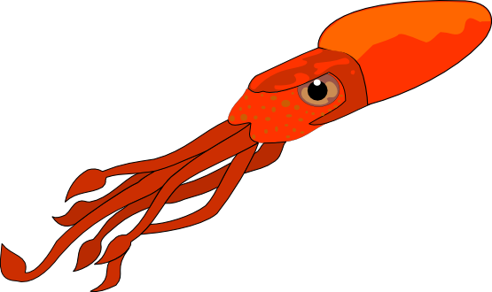 svg free library Squid Free Clipart