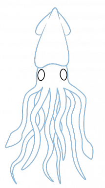 graphic freeuse Simple Squid Drawing at GetDrawings