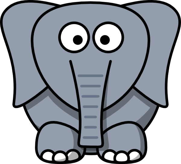 svg transparent stock Elephant Drawing Cartoon at GetDrawings