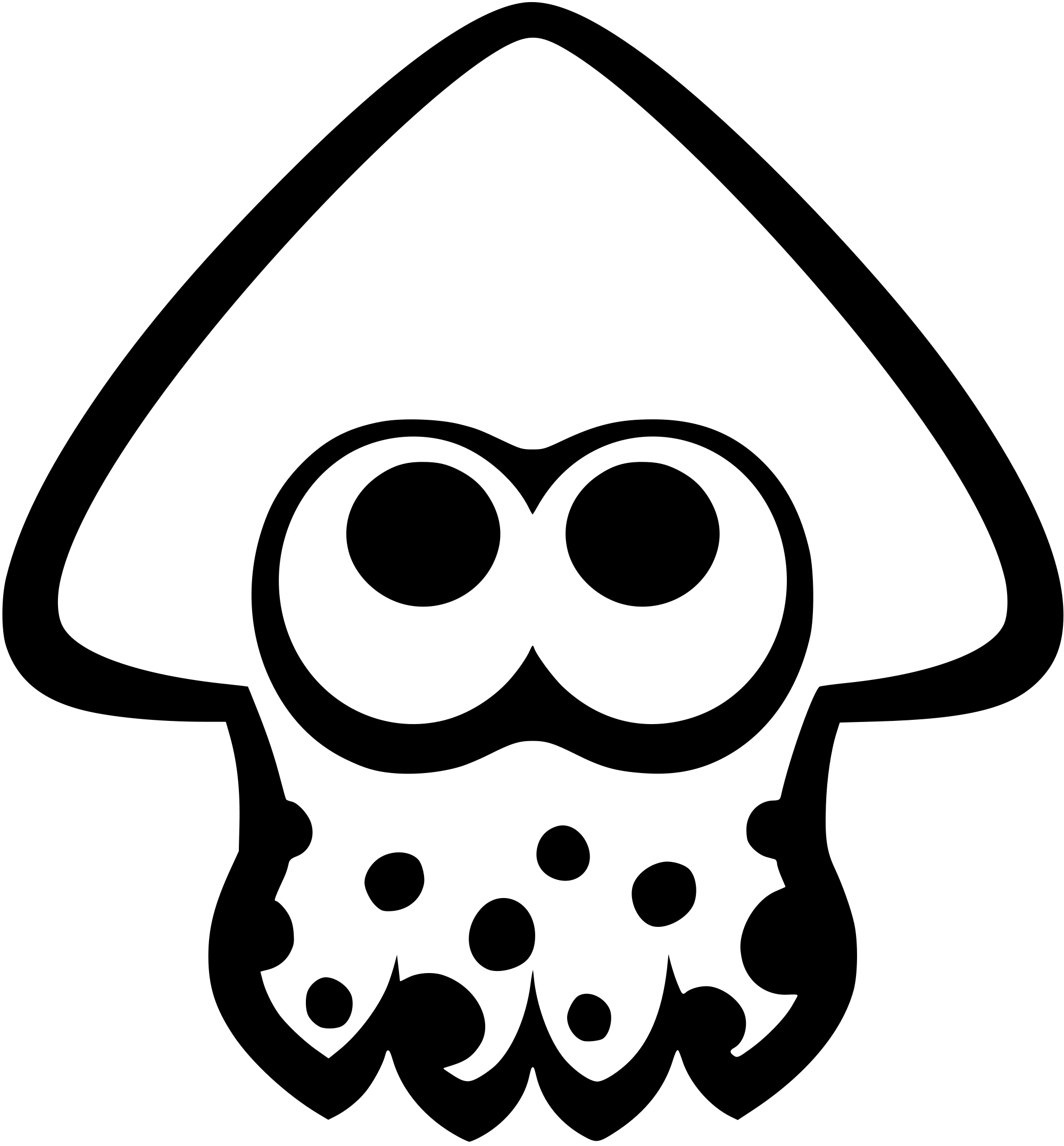svg royalty free transparent squid inkling #117424316