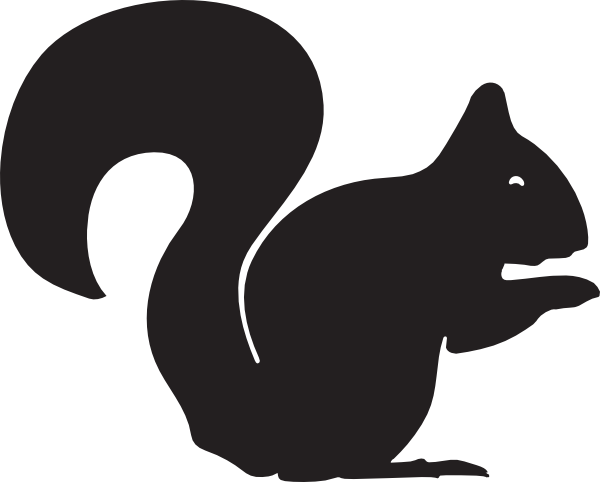 clip art freeuse library Squirrel Clip Art at Clker