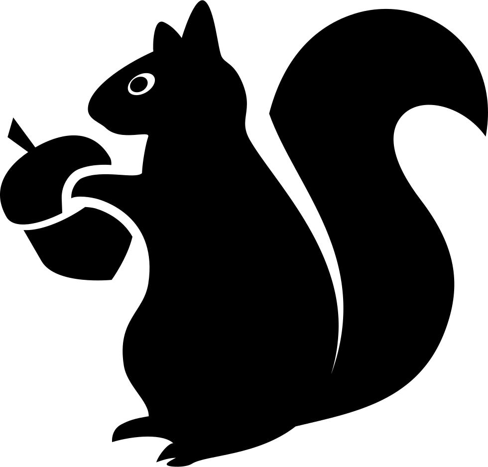 banner transparent download Image result for Squirrel svg file