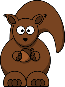 png download Cartoon Squirrel clip art