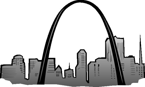 image transparent stock St Louis Gateway Arch Clip Art at Clker