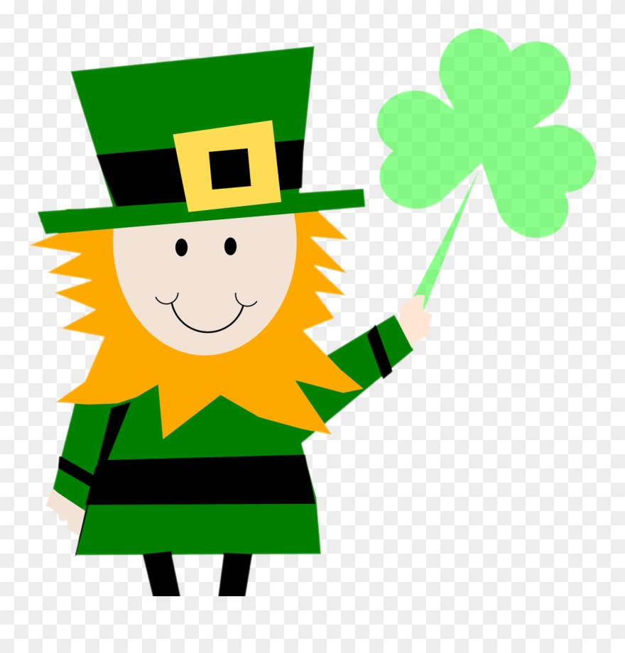 graphic library download Leprechaun shamrock png download. St patrick clipart
