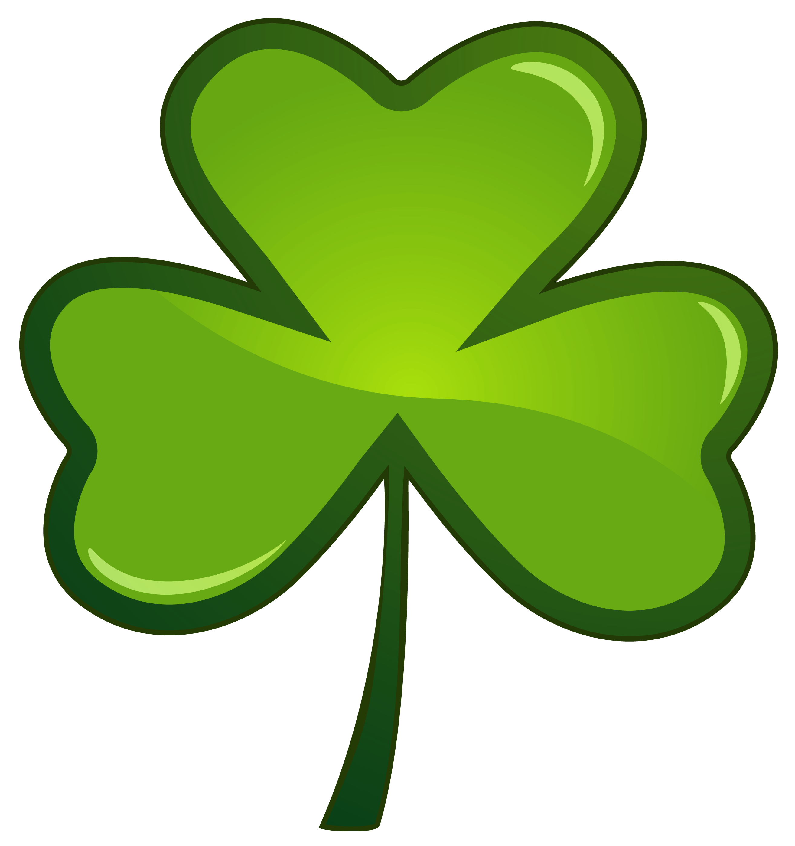 vector black and white library Clover clipart st pats. Crammed free patricks day.