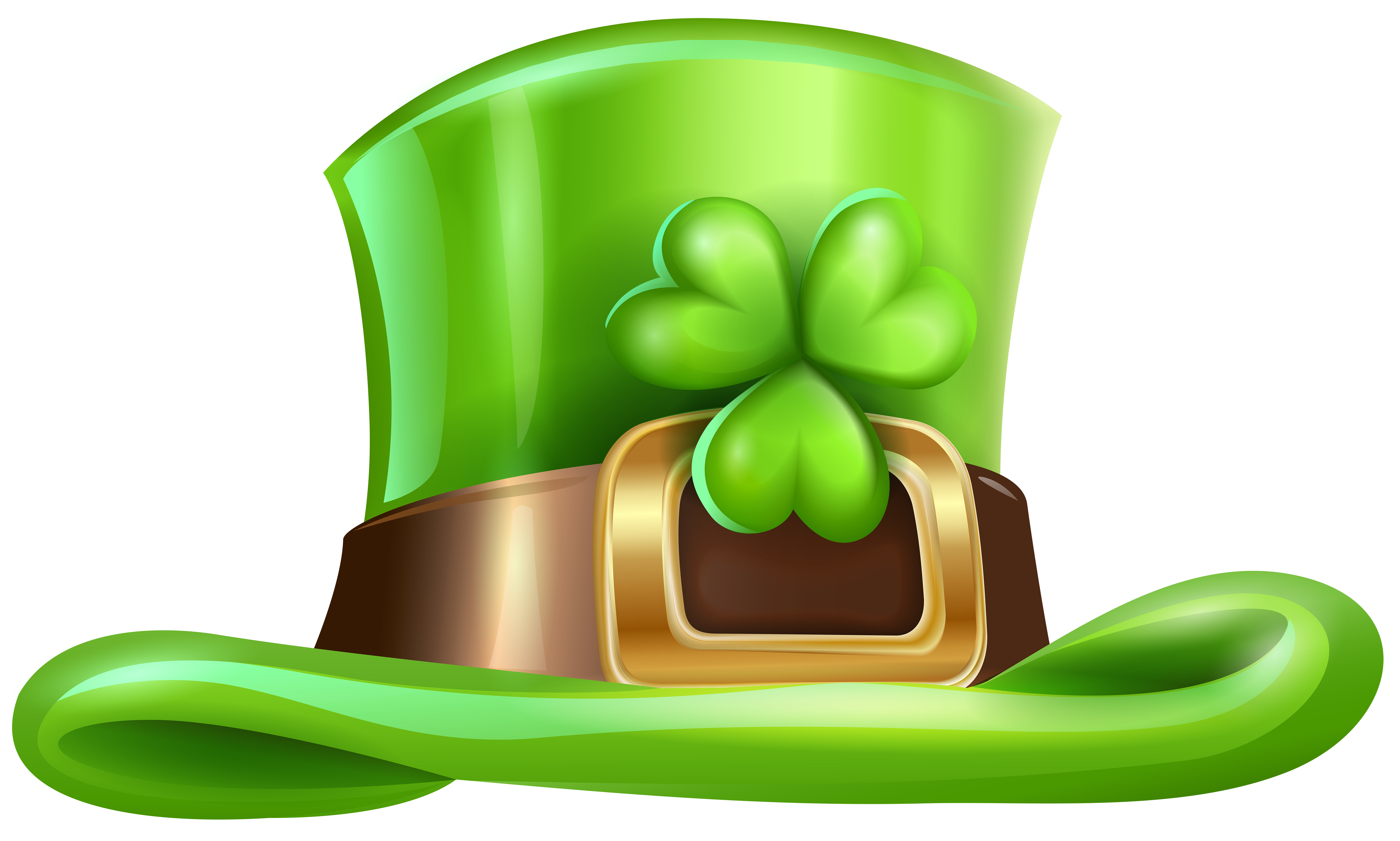 clip art library library St Patricks Day Hat with Shamrock Transparent PNG Clip Art Image