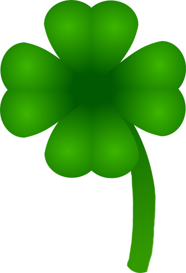 image library S day four leaved. St patrick clipart