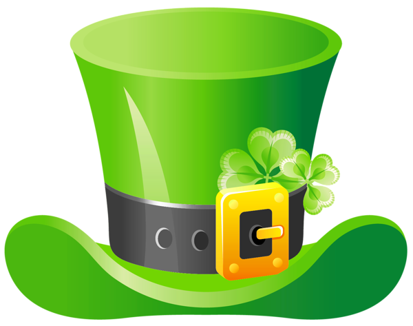 svg royalty free St Patrick Hat PNG Clipart Picture
