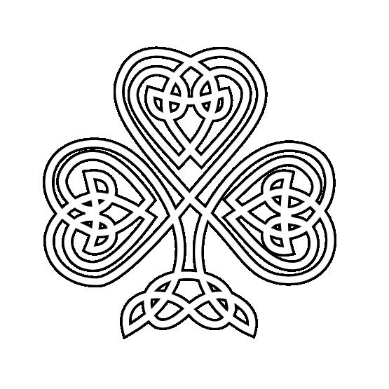 clip black and white download Irish border clipart. St patrick drawing at
