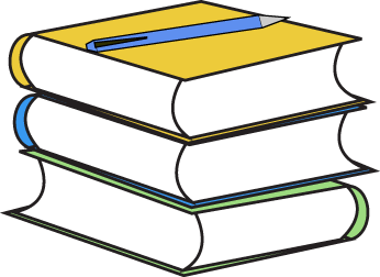 picture free download Stack of Books and Pencil Clip Art