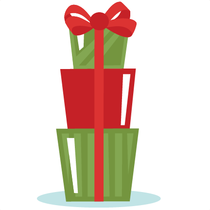 graphic freeuse stack of christmas presents clipart #61093126