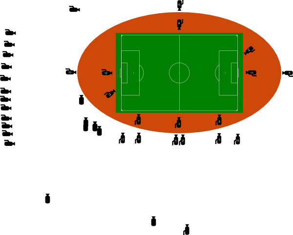 image freeuse library Stadium clipart. Cameras clip art at.