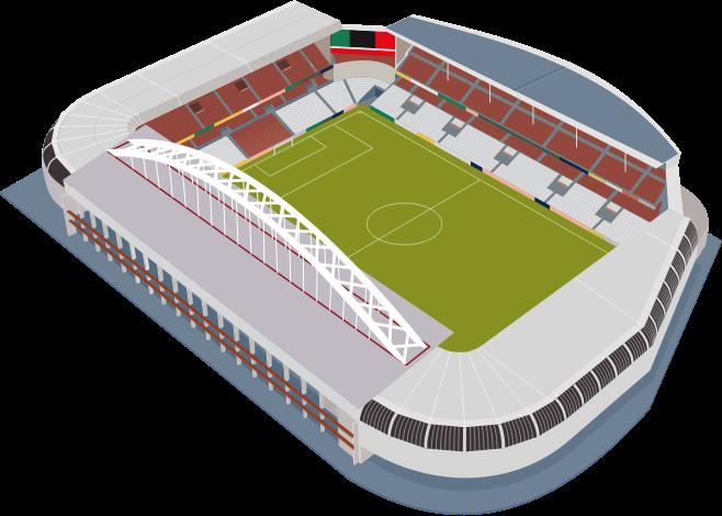 freeuse download stadium vector blank #115857844