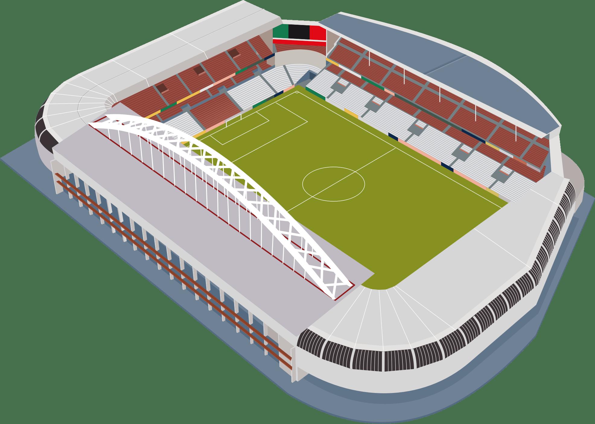 svg black and white Football Stadium transparent PNG