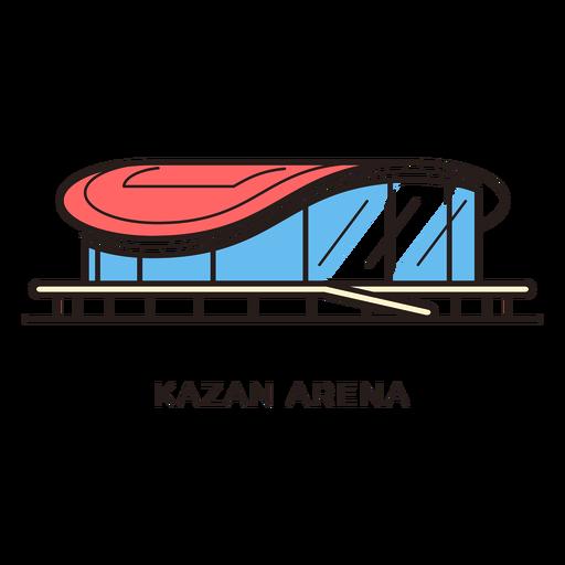 clip royalty free library Vector arena. Kazan football stadium logo