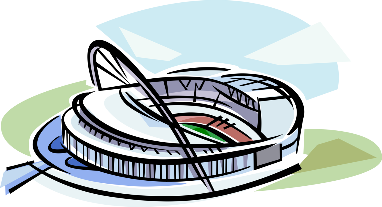 banner library stock Wembley Football Stadium