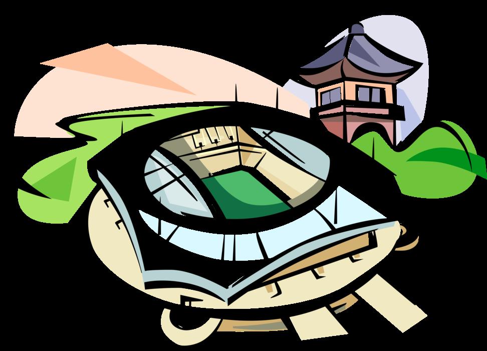 royalty free World Cup Stadium