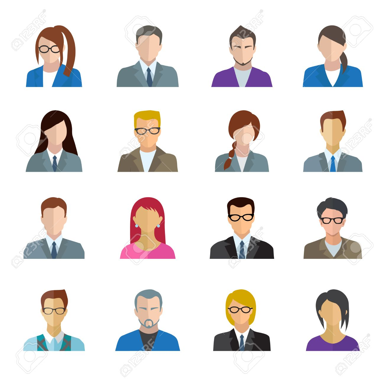 clip royalty free download Staff clipart office personnel. X free clip art