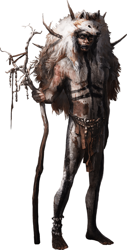 png black and white Far Cry Primal