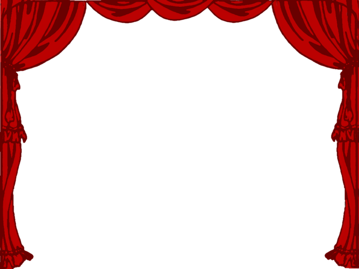 clipart freeuse download Red Stage Curtain Clipart