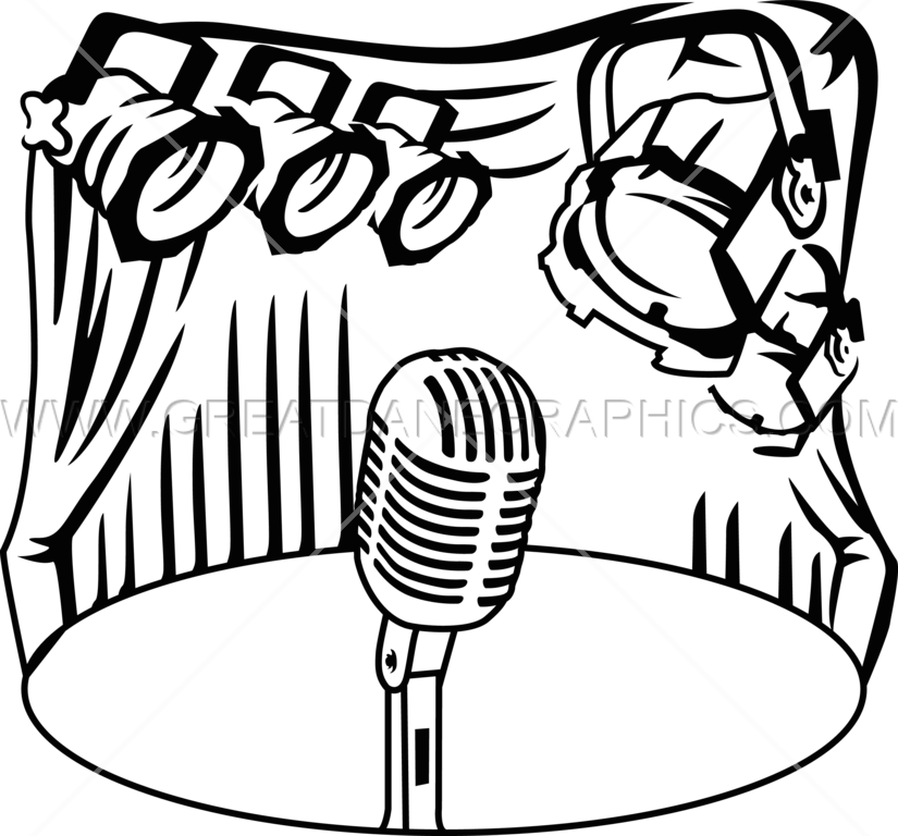 clipart freeuse download Stage Light Drawing at GetDrawings