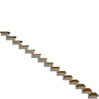 image free stock Hanging stairspng stairs transparent. Steps clipart stair side view