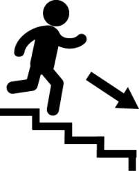 png transparent library Down home solution. Stairs clipart