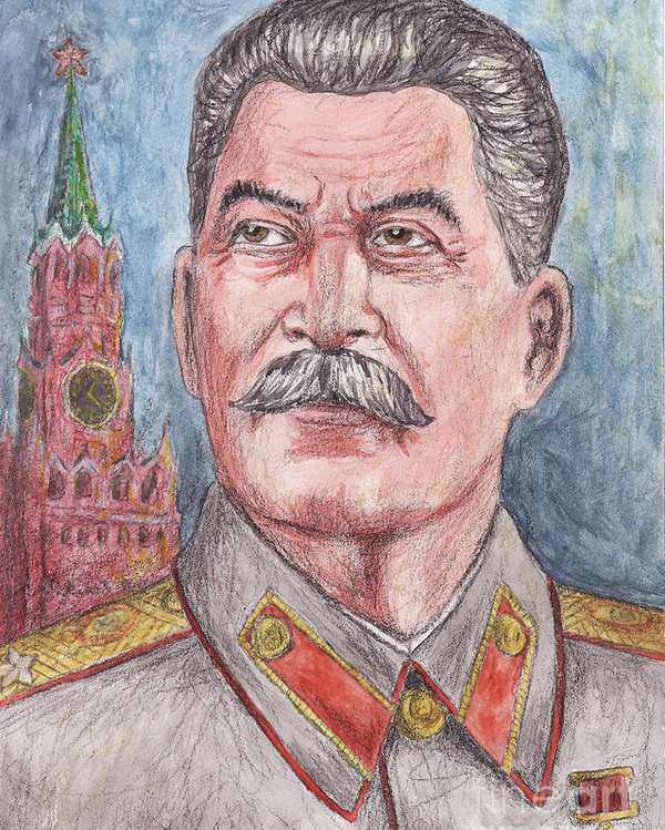 clip art freeuse library Stalin drawing. Joseph at paintingvalley com.