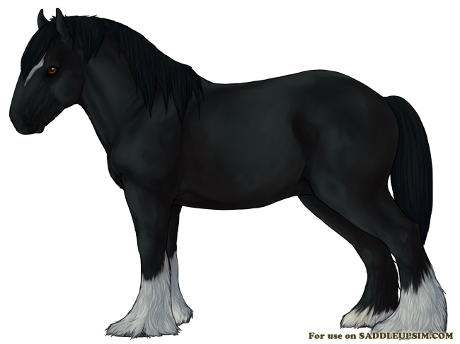 clip royalty free download Shire horse Breed Art