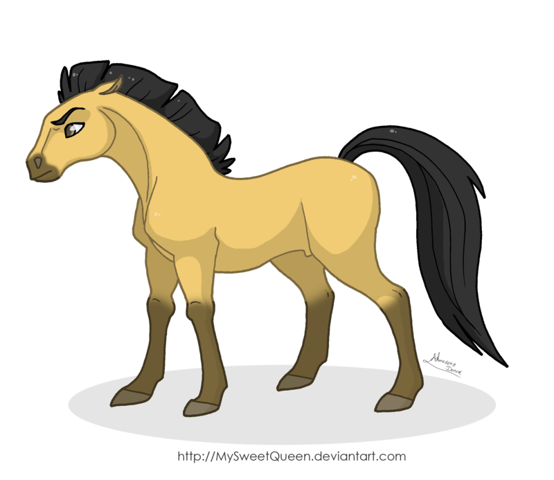 clipart library download Stallion of the Cimarron by MySweetQueen