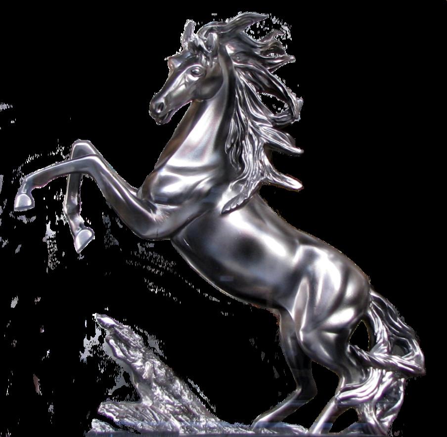 freeuse stallion drawing statue #103683123