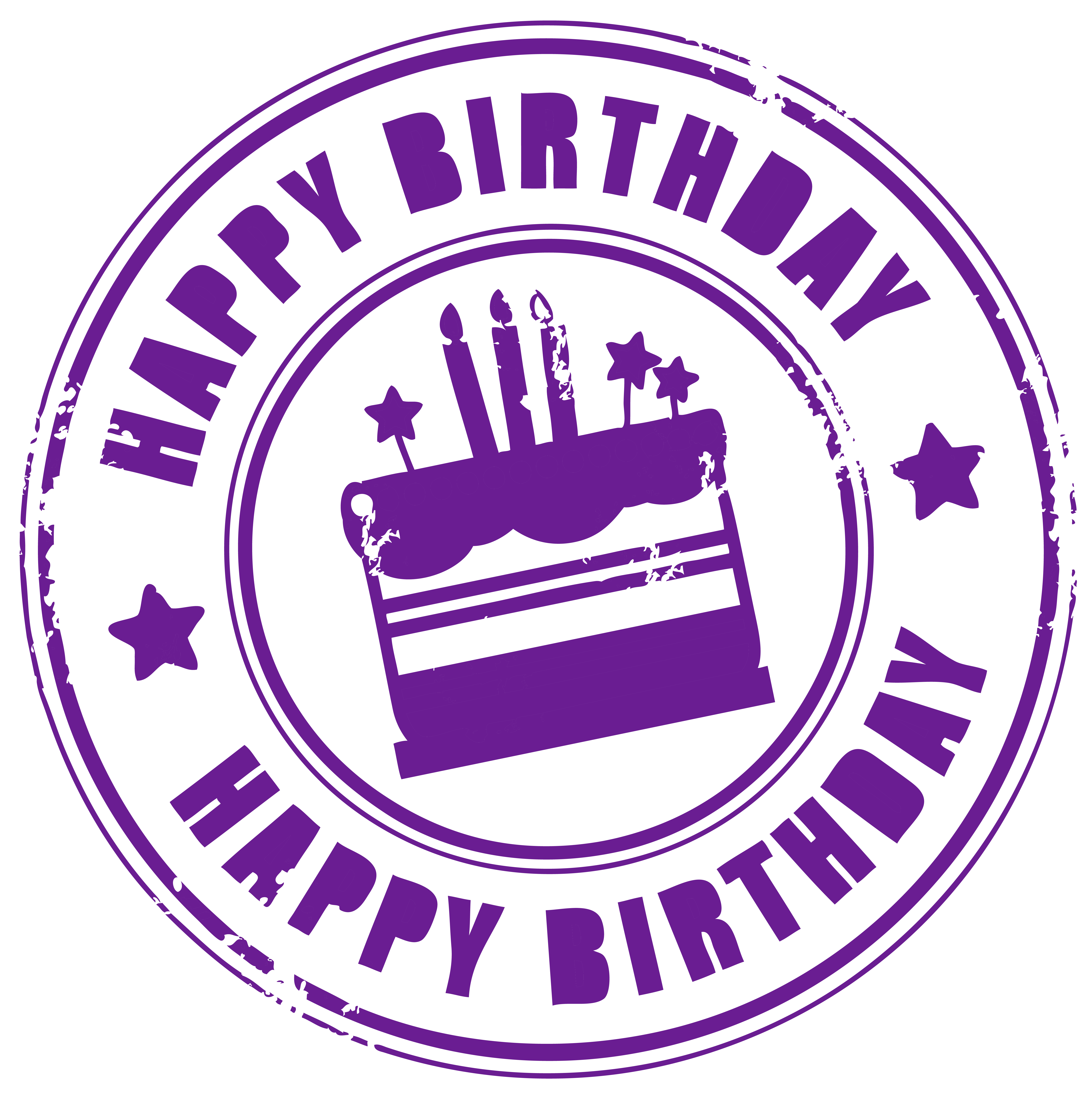 svg download Happy birthday png picture. Stamp clipart