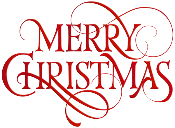 banner stock Merry Christmas Red Transparent PNG Clip Art