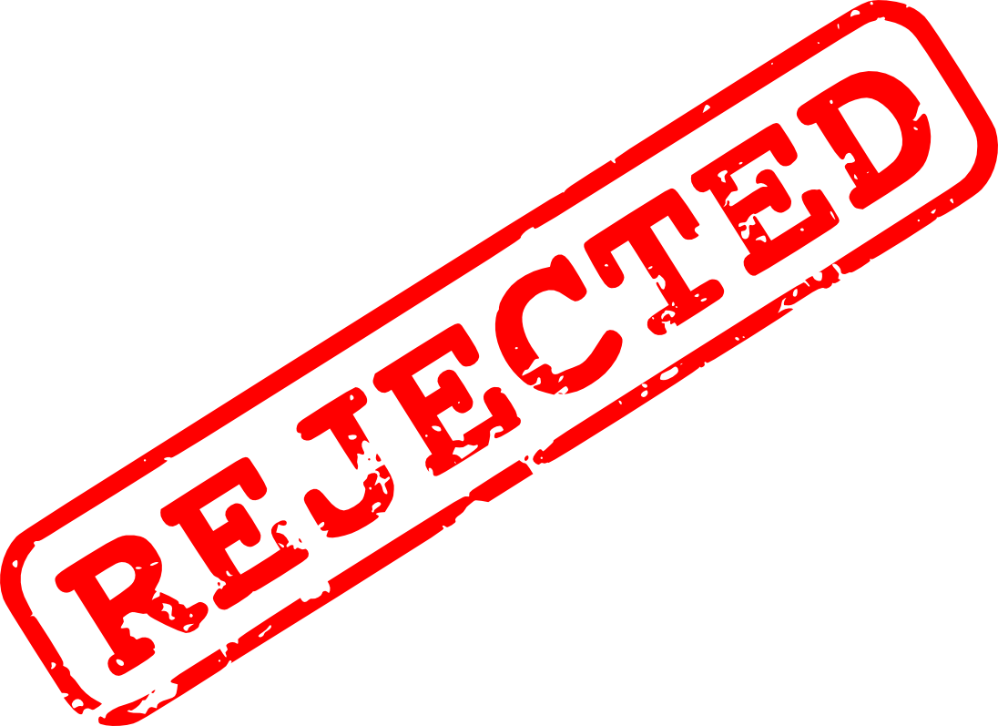clip black and white Collection of free Denied clipart stamp transparent