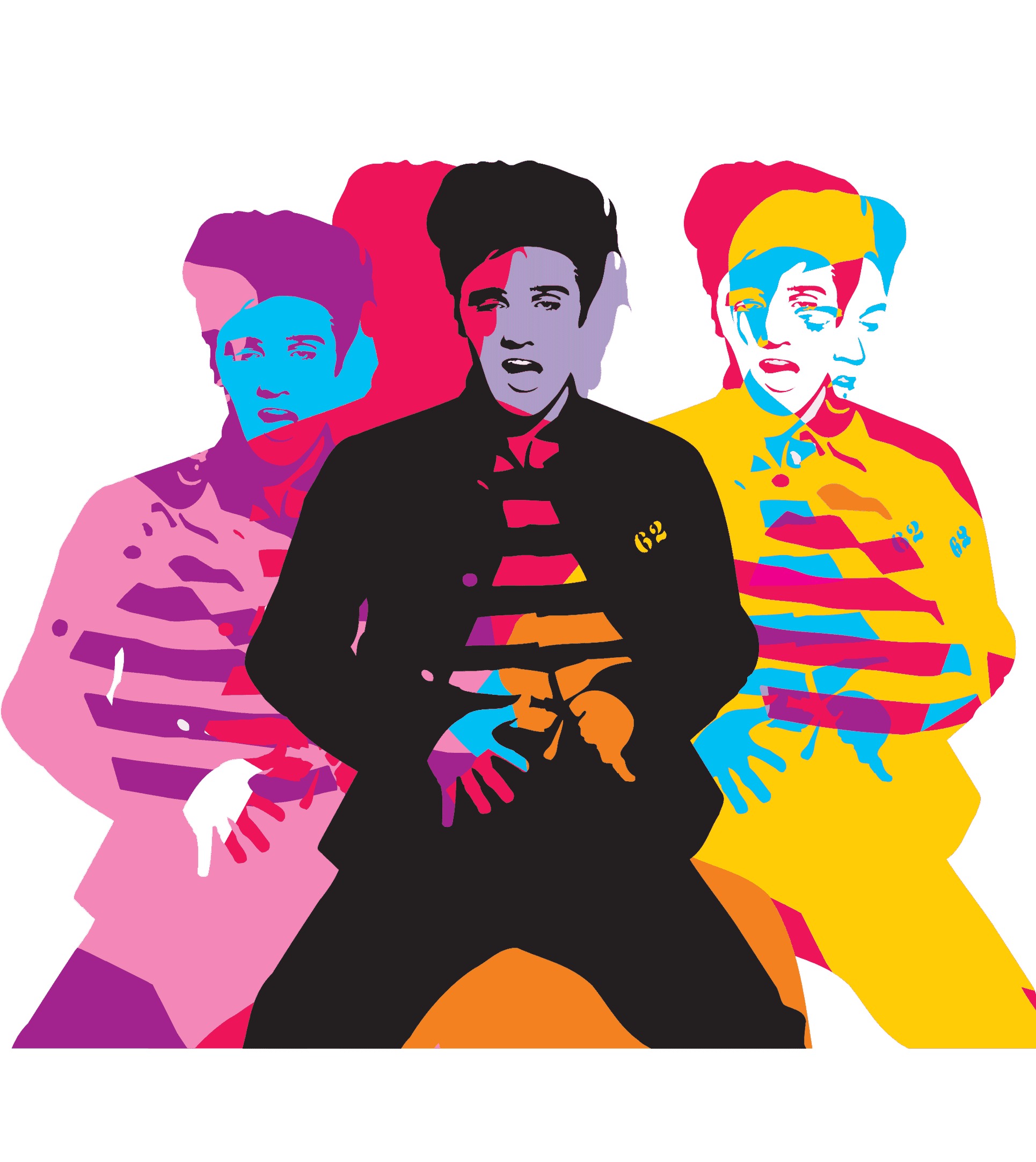 clip free Pop Art Painting by Artist Lobo