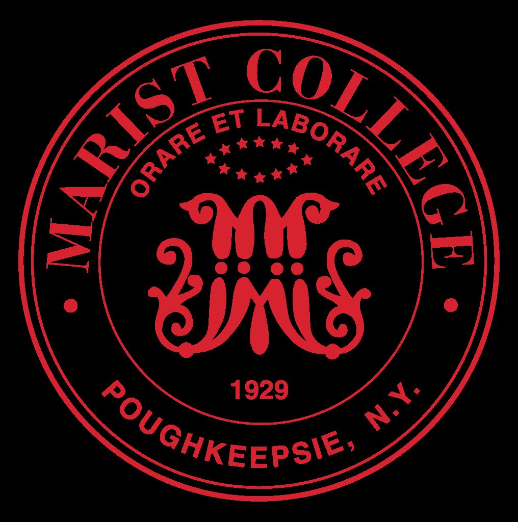 svg black and white stock Marist College
